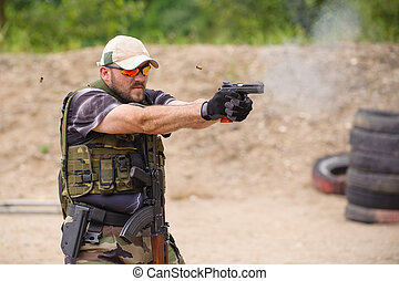 Shooting and Weapons Training Outdoor Shooting Range