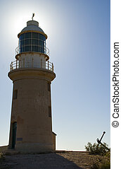 Vlaming lighthouse. - The Vlaming light house in North West...