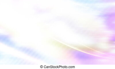 Flowing soft abstract looping - Light colored flowing soft...