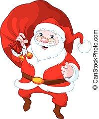 Santa Claus  - Illustration of cute Santa Claus