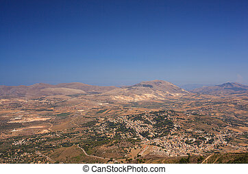 Sicilian countryside - View of Sicilian countryside from...