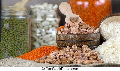 Legumes Healthy and Natural Mixed Food