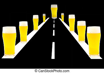 Dont Drink and Drive - Ilustration, computer graphics...
