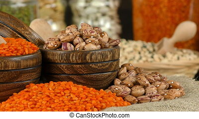 Legumes Healthy and Natural Mixed Food