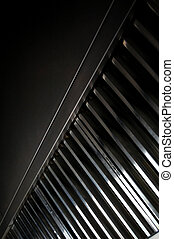 Professional kitchen, exhaust systems