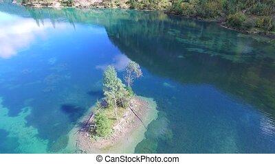 Gosau green lake, Austria next to h