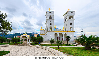 The Cathedral of St. John Vladimir, Bar, Montenegro - The...