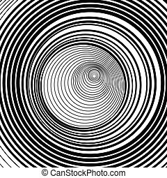 tunnel vortext or hole infinity background vector