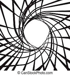 vortex abstract burst from center background