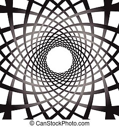Abstract rotating shapes Dynamic swirling, twirling...