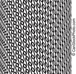 optical art background black and white vector - optical art...