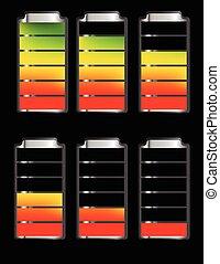 Battery Level Indicator Symbols