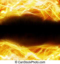 abstract fire background - frame of abstract fire background...