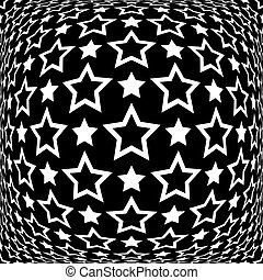 Stars pattern. Abstract textured background.
