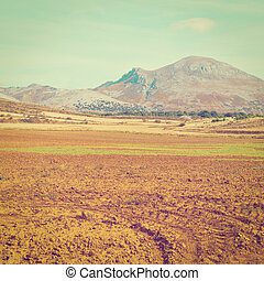 Plowed Fields in the Cantabrian Mountain, Spain, Instagram...