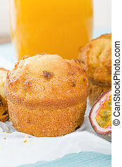 Passion Fruit Cake - Cake made with passion fruit juice...