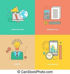 Data Analysis, Business Marketing Plan, Startup