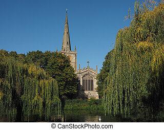 Holy Trinity church in Stratford upon Avon - Holy Trinity...