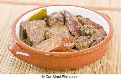 Feijoada, carne,