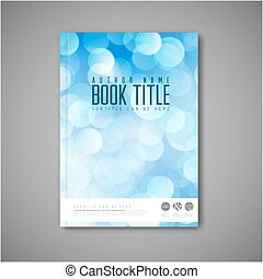 Modern Vector abstract brochure book flyer design template...
