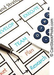 business plan - developing a new successful business plan...
