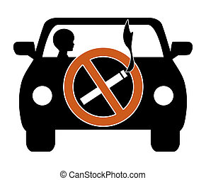 Ban Smoking in Cars with Kids - Smoking in private vehicles...