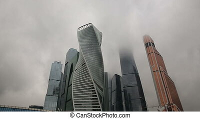 Moscow City, Russia buisines center