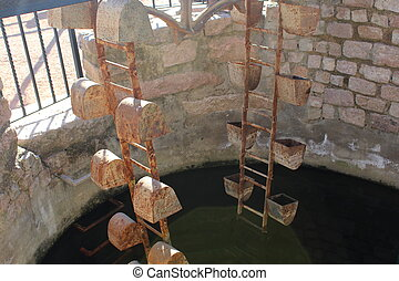 vintage water well - Creative design of vintage water well