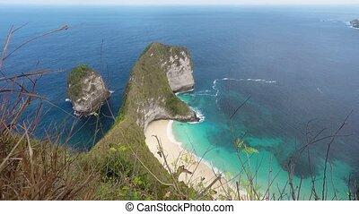 dream Bali Manta Point beach - dream beach on coastline at...