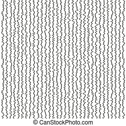 Vector lines background seamless pattern - Vector lines...