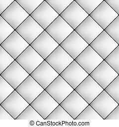 Seamless grey diamond tiles pattern, vector wallpaper