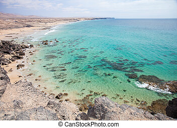 Fuerteventura, Canary Islands, Playa del Castillo next to El...