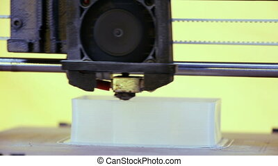 3D printing - Three dimensional printer, Printing with...