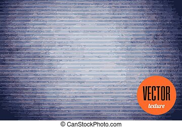 Vector textile texture blue jeans background - Vector...