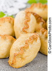 Cornish Pasties - Cornish Pasty - Baked pasty filled with...