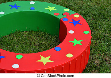 Toy rink outdoor game
