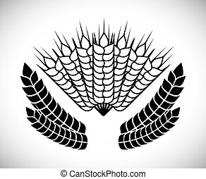 Barley design - Barley concept and wheat design, vector...