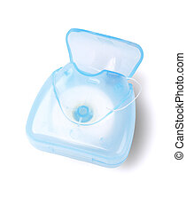 Oral Care Dental Floss - Dental Floss in Plastic Container...