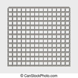 gray jail bars - many gray jail bars on gray background