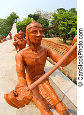 wat Ban Na Muang, Ubon Ratchathani , Thailand