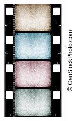16mm Film roll,2D digital art