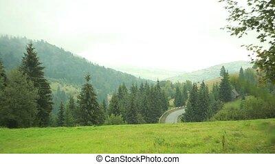 Scenic Landscapes Carpathian Mountains Ukraine 2