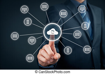 Cloud computing synchronization Information technology...
