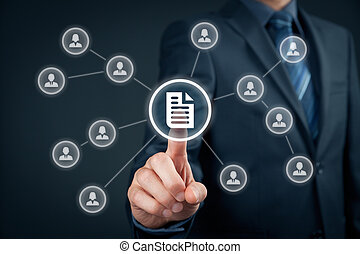 Data management - Corporate data management system (DMS) and...