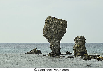 Greece_Lemnos - Greece, rock formation in Agios Joannis