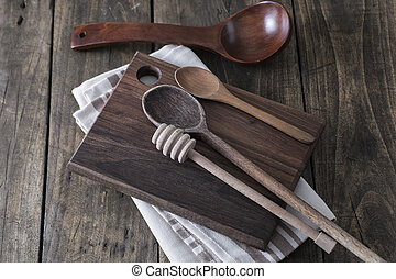 kuchnia, przybory, Na, przedimek określony przed...
