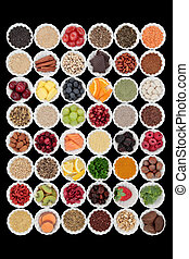 Superfood Collection - Large superfood selection in...