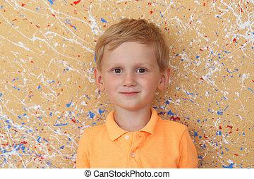 Cute boy - Child Cute boy at home