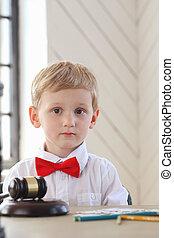 Cute boy - Child. Cute boy at home