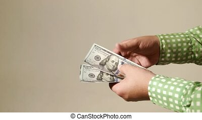 Cash transaction gives dollars business
